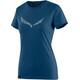Salewa Solid Dri-Release Shortsleeve Shirt Women blue